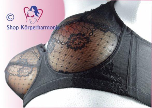 Crossdresser Taschen BH Lotty seitlich, Shop Körperharmonie